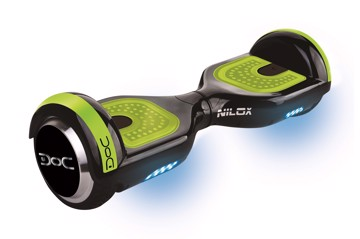 Picture of  NILOX DOC N HOVERBOARD BLACK UL