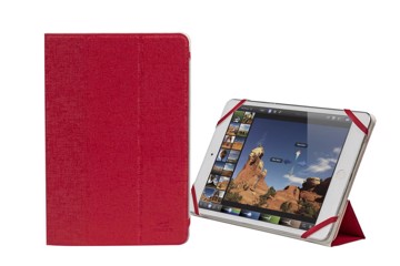 "Εικόνα της RivaCase 3122 white/red double-sided tablet cover 7-8"" Θήκη tablet"