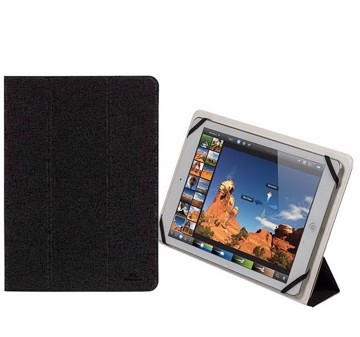 """Picture of RivaCase Malpensa 3127 black/white double-sided tablet cover 10,1"""" Θήκη tablet"""
