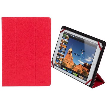 """Picture of RivaCase Malpensa 3127 red/black double-sided tablet cover 10,1"""" Θήκη tablet"""