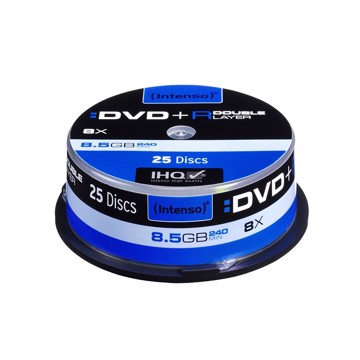 Picture of Intenso DVD+R Double Layer 25  Cake Box 8.5 GB