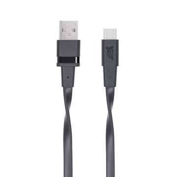 Εικόνα της RIVAPOWER 6002 BK12 Type-C 2.0 – USB cable 1.2m black /96