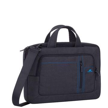 Picture of RivaCase 7520 Alpendorf black Canvas Laptop bag 13.3-14'' Τσάντα μεταφοράς Laptop