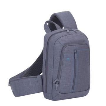 Picture of RivaCase 7529 Alpendorf grey Laptop Sling backpack 13.3'' Τσάντα μεταφοράς Laptop
