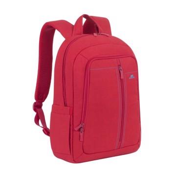 """Picture of Riva Case 7560 Alpendorf Laptop Canvas Backpack 15.6"""" red Τσάντα μεταφοράς Laptop"""