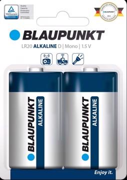 Picture of Blaupunkt Alkaline LR20 D  2 pack