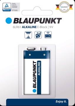 Εικόνα της Blaupunkt Alkaline 6LR61 9V 1 pack