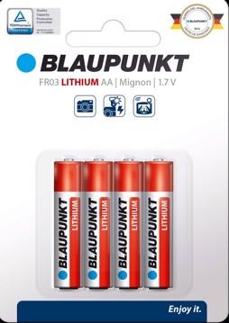 Εικόνα της Blaupunkt Lithium FR03 AAA 4 pack