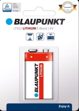Εικόνα της Blaupunkt Lithium LT922 9V 1 pack