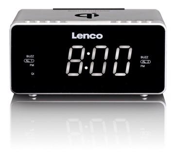 Εικόνα της LENCO CLOCK RADIO CR-550 SILVER Ράδιοξυπνητήρι