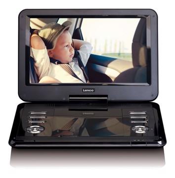 Picture of LENCO PORTABLE DVD DVP-1210 Συσκευή αναπαραγωγής DVD