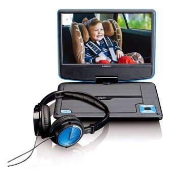 Picture of LENCO PORTABLE DVD DVP-910 BLUE Συσκευή αναπαραγωγής DVD