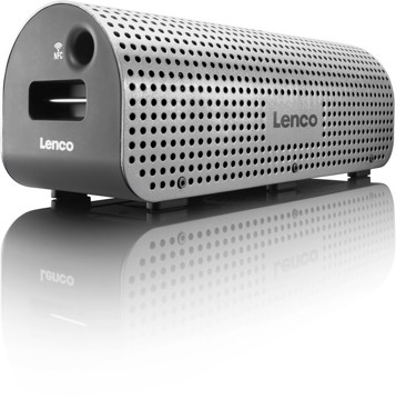 Picture of LENCO BLUETOOTH SPEAKER GRID-7 SILVER Ηχείο Bluetooth