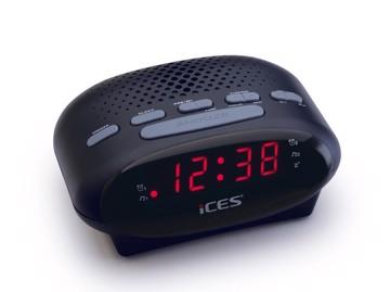 Εικόνα της LENCO CLOCK RADIO ICR-210 BLACK Ράδιοξυπνητήρι