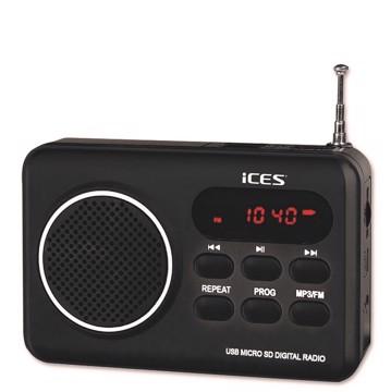 Εικόνα της LENCO RADIO IMPR-112 BLACK Φορητό Ραδιόφωνο