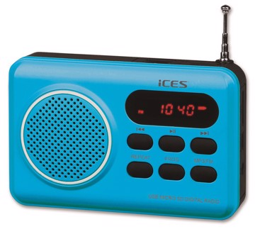 Picture of LENCO RADIO IMPR-112 BLUE Φορητό Ραδιόφωνο