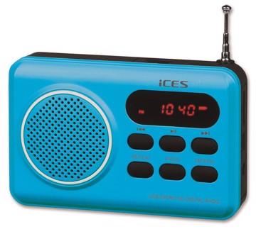 Εικόνα της LENCO RADIO IMPR-112 BLUE Φορητό Ραδιόφωνο