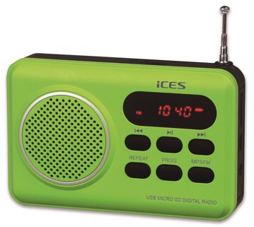 Picture of LENCO RADIO IMPR-112 GREEN Φορητό Ραδιόφωνο
