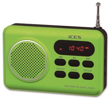 Εικόνα της LENCO RADIO IMPR-112 GREEN Φορητό Ραδιόφωνο