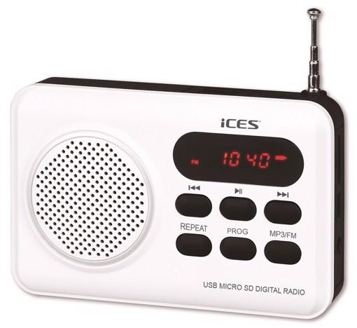 Picture of IMPR-112 WHITE RADIO