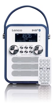 Picture of LENCO RADIO PDR-50 BLUE Φορητό ραδιόφωνο DAB +