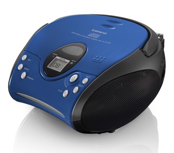 Εικόνα της LENCO BOOMBOX SCD-24 BLUE BLACK Φορητό ράδιo/CD