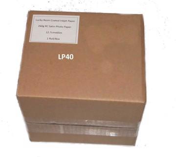 Εικόνα της LUCKY DRY LAB PAPER 12,7cmx100m SATIN 260g/m2