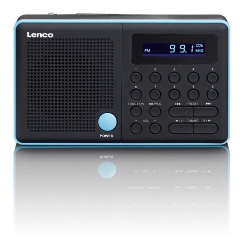 Φωτογραφία από LENCO RADIO MPR-034 BLUE Φορητό ραδιόφωνο