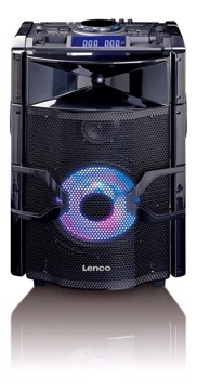 Picture of LENCO PORTABLE SOUND SYSTEM PMX-250 Φορητό ηχείο Party Bluetooth