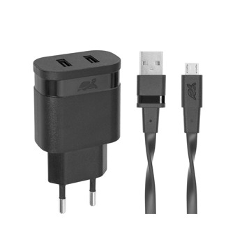 Picture of RIVAPOWER VA 4123 BD1 Wall Charger AC 2USB x 3,4A