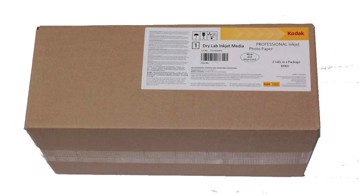 Picture of Kodak Dry Lab Paper, Glossy 12,7cmX100m 255grams