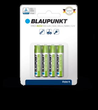 Εικόνα της Blaupunkt HR03 AAA RTU 900  mAh Clamshell Precharged 4 pack