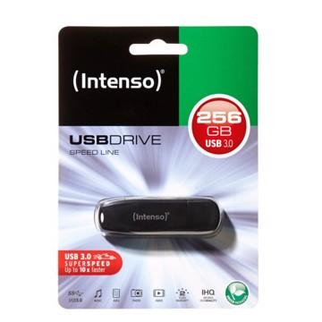 Εικόνα της Intenso USB Drive 3.0 SPEED LINE 256GB Μαύρο
