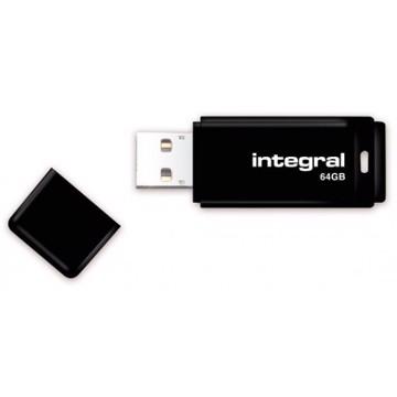 Picture of INTEGRAL USB Flash Drive Black 3.0 - 64GB Μαύρο