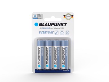 Εικόνα της Blaupunkt Alkaline Everyday LR06 AA 4 pack