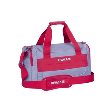 Εικόνα της RivaCase 5235 Mercantour grey/red 30L Duffle bag Σακβουαγιάζ Γκρι-Κόκκινο
