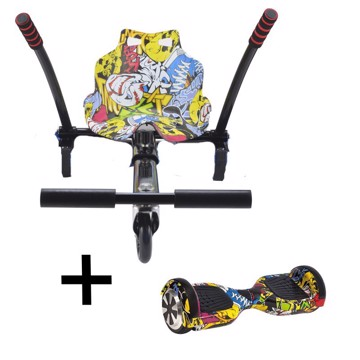 Picture of URBANGLIDE BUNDLE HOVERBOARD 65LITE ΚΑΙ KART PILOT MULTICOLOR