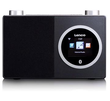 Εικόνα της Lenco DIR-70 Internet Radio με Bluetooth Μαύρο