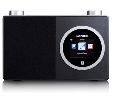 Picture of Lenco DIR-70 Internet Radio με Bluetooth Μαύρο