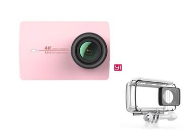 Εικόνα της YI 4K Action Camera Waterproof Case Set Rose Gold
