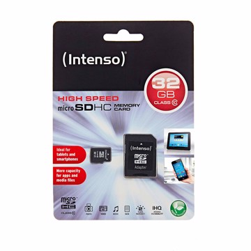 Εικόνα της Intenso Micro SD Card 32GB SDHC Class 10  Κάρτα μνήμης